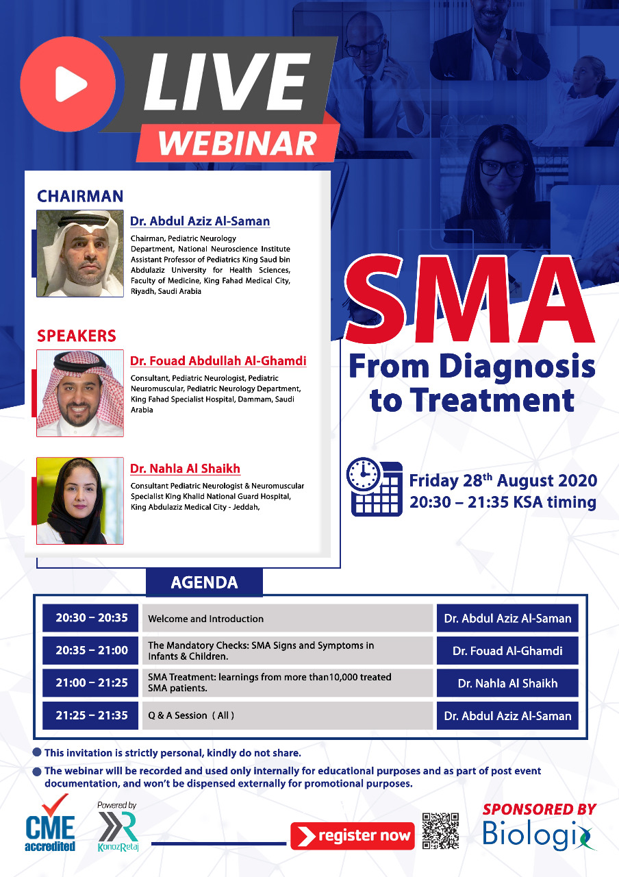 SMA: From Diagnosis to Treatment