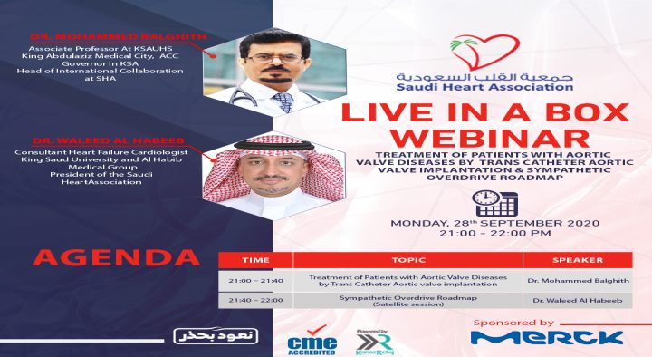 LIVE IN A BOX WEBINAR: TREATMENT OF PATIENTS WITH AORTIC VALVE DISEASE BY TRANS CATHETER AORTIC VALVE IMPLANTATION