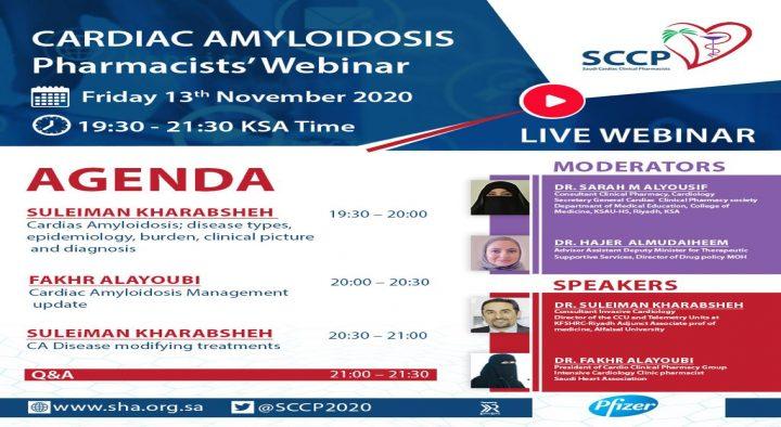 CARDIAC AMYLOIDOSIS Pharmacist Webinar