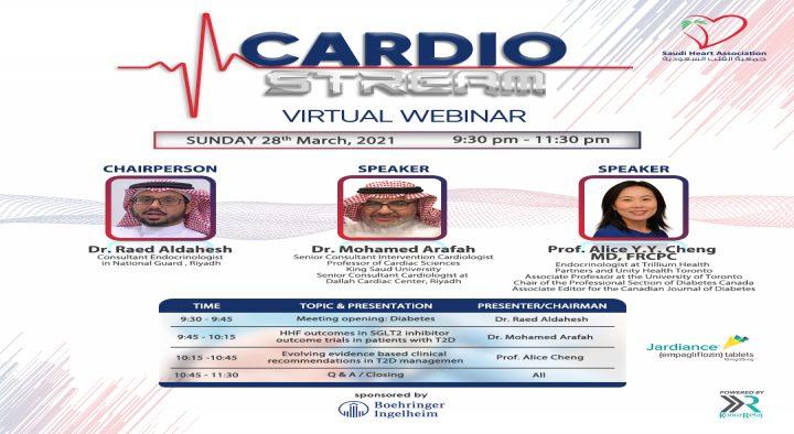 Cardio Stream Virtual Webinar