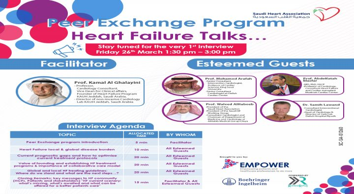 Peer Exchange Program Heart Failure Talks