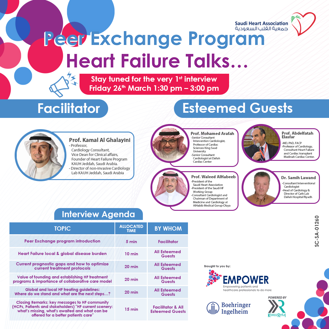 Peer Exchange Program Heart Failure Talks