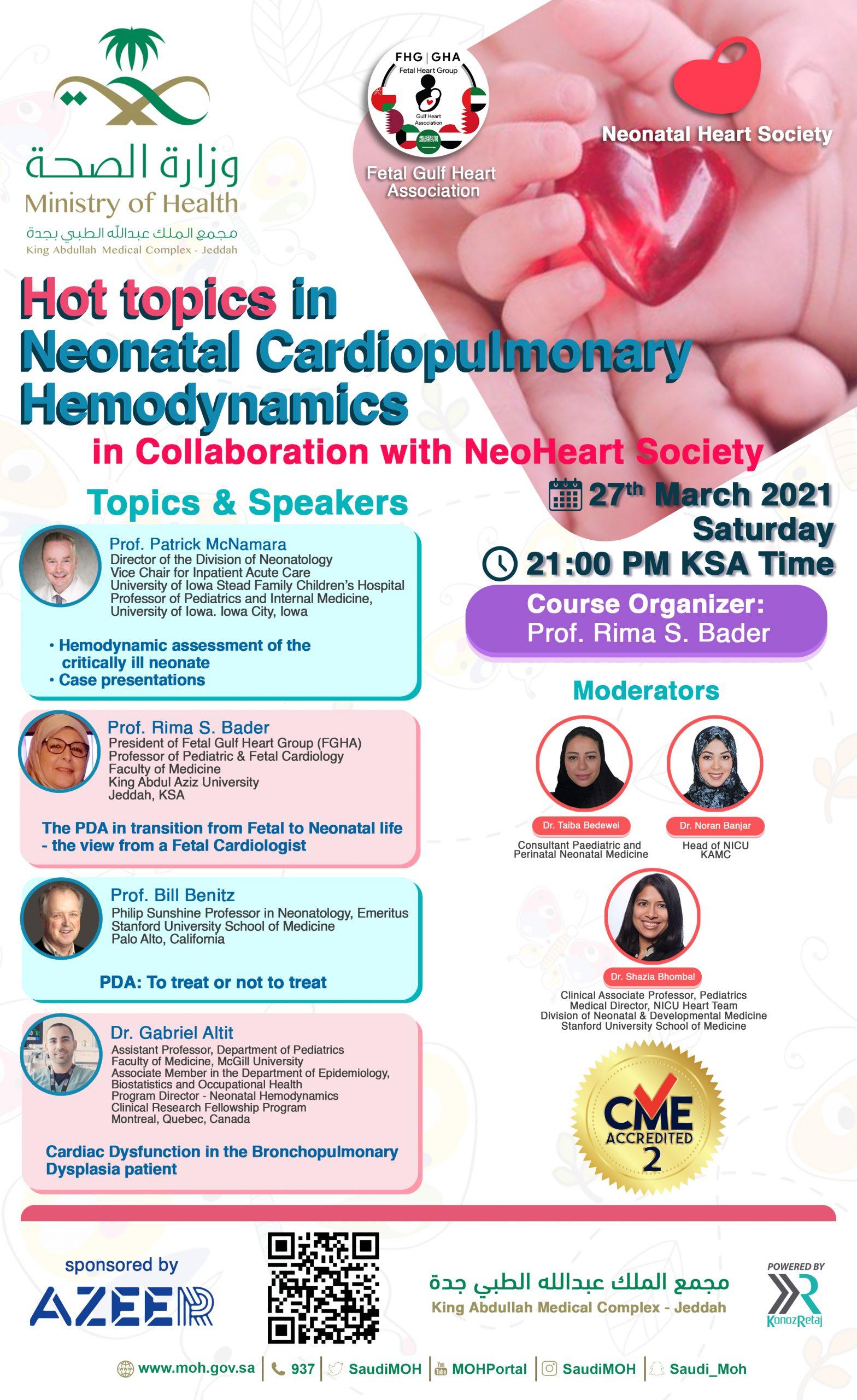 Hot Topics in Neonatal Cardiopulmonary Hemodynamics