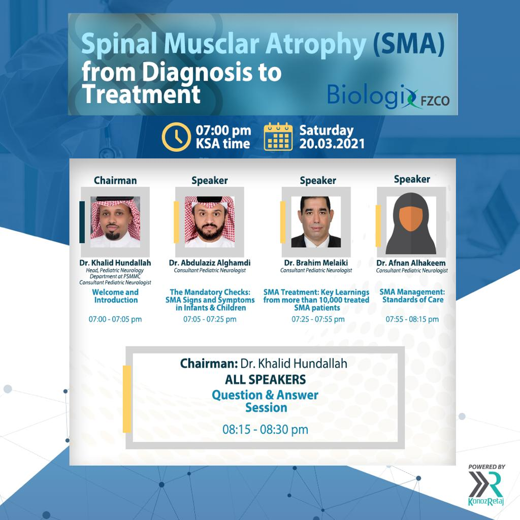 Spinal Musclar Atrophy (SMA) from Diagnosis to Treatment