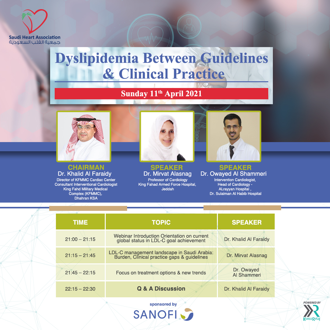 Dyslipidemia Between Guidelines & Clinical Practice