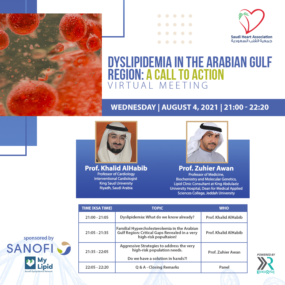 DYSLIPIDEMIA IN THE ARABIAN GULF REGION: A CALL TO ACTION