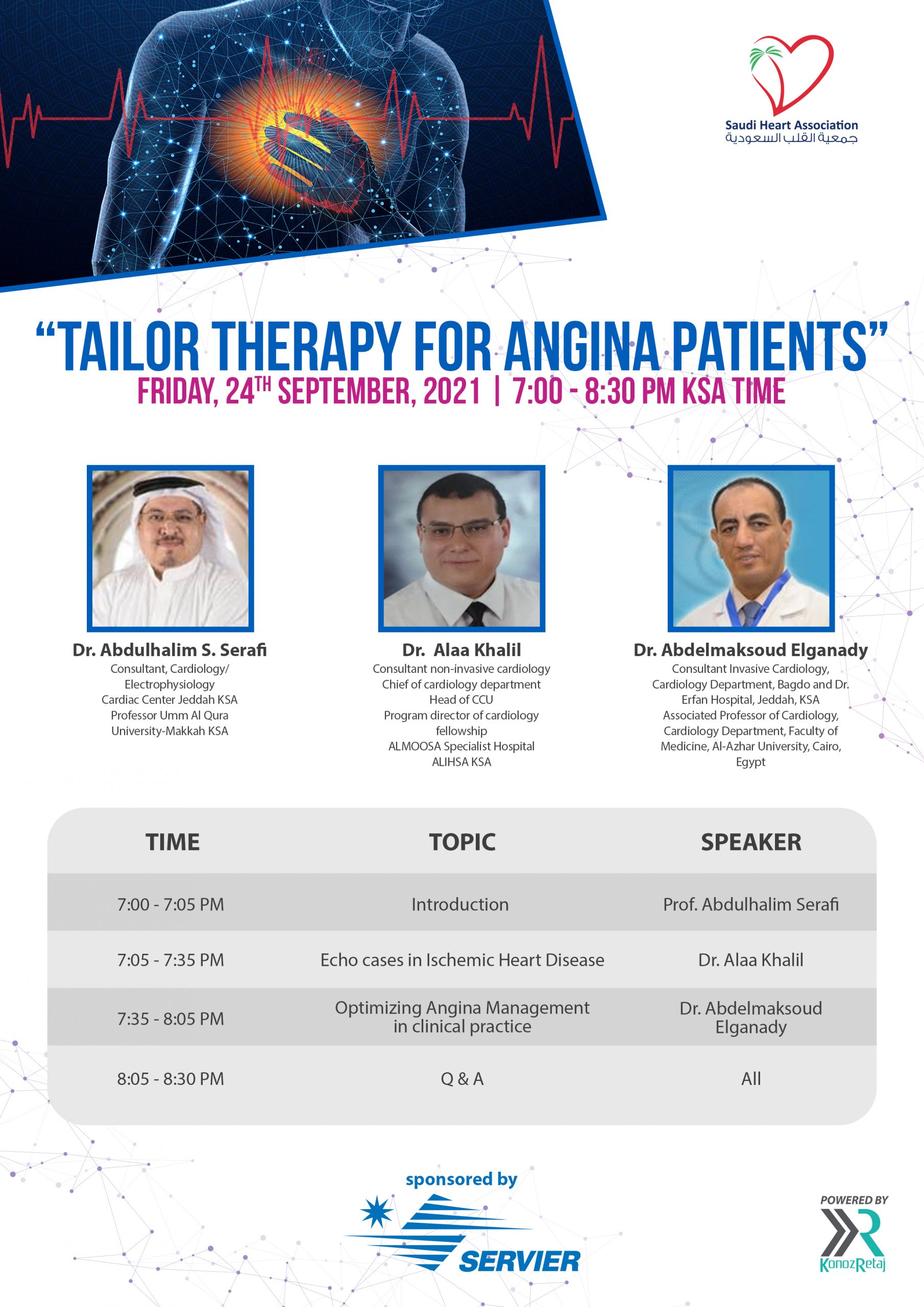TAILOR THERAPY FOR ANGINA PATIENTS