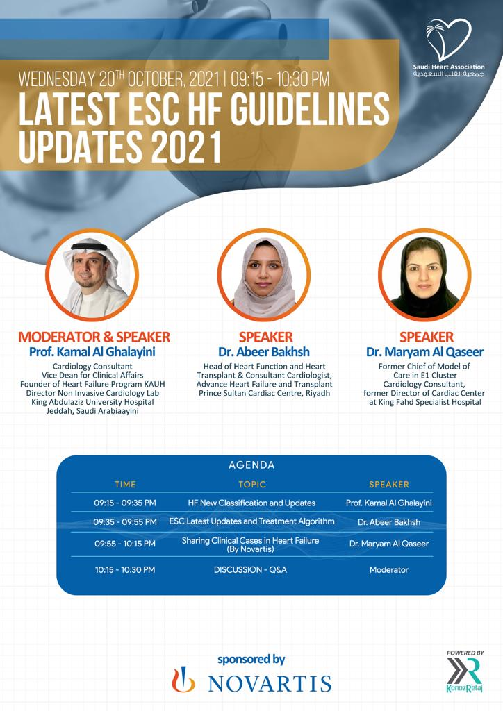 LATEST ESC HF GUIDELINES UPDATES 2021